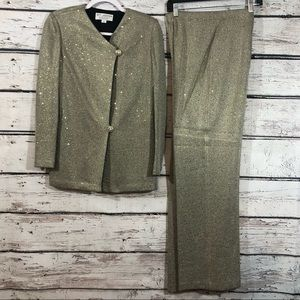 St. John Evening by Marie Gray 2pc Pant Suit